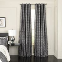 Beautyrest® Normandy 84-Inch Back Tab/Rod Pocket Room Darkening Window Curtain Panel in Pewter