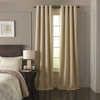 Beautyrest® Arlette 63-Inch Grommet Top Room Darkening Window Curtain Panel in Creme