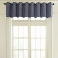 Beautyrest® Arlette Grommet Top Room Darkening Window Valance in Midnight