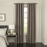 Beautyrest® Arlette 84-Inch Grommet Top Room Darkening Window Curtain Panel in Dark Mushroom