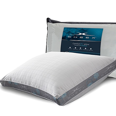 Sheexr 375 side sleeper pillow in white bed bath beyond for Best pillow for side sleepers bed bath and beyond