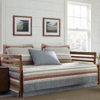 Eddie Bauer® Salmon Ladder Stripe Daybed Quilt Set in Blue