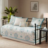 Madison Park Tissa Reversible Daybed Set in Teal