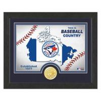 "MLB Toronto Blue Jays ""Country"" Bronze Coin Photo Mint"