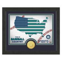 """MLB Seattle Mariners """"Country"""" Bronze Coin Photo Mint"""