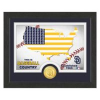 """MLB San Diego Padres """"Country"""" Bronze Coin Photo Mint"""