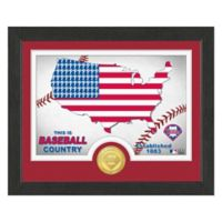 "MLB Philadelphia Phillies ""Country"" Bronze Coin Photo Mint"