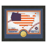 """MLB New York Mets """"Country"""" Bronze Coin Photo Mint"""