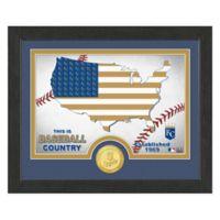 "MLB Kansas City Royals ""Country"" Bronze Coin Photo Mint"