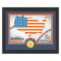 """MLB Florida Marlins """"Country"""" Bronze Coin Photo Mint"""