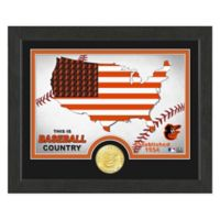"""MLB Baltimore Orioles """"Country"""" Bronze Coin Photo Mint"""