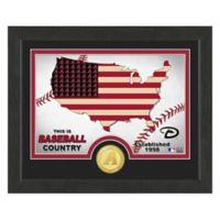 "MLB Arizona Diamondbacks ""Country"" Bronze Coin Photo Mint"