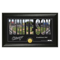 "MLB Chicago White Sox ""Silhouette"" Panoramic Stadium Bronze Coin Photo Mint"