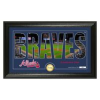 "MLB Atlanta Braves ""Silhouette"" Panoramic Stadium Bronze Coin Photo Mint"