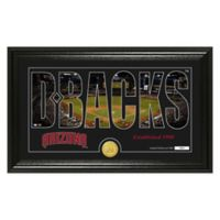 "MLB Arizona Diamondbacks ""Silhouette"" Panoramic Stadium Bronze Coin Photo Mint"