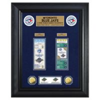 MLB Toronto Blue Jays World Series Deluxe Gold Coin & Ticket Collection Photo Mint