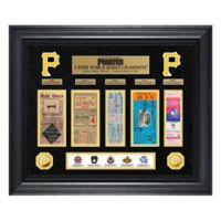 MLB Pittsburgh Pirates World Series Deluxe Gold Coin & Ticket Collection Photo Mint