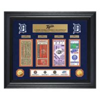 MLB Detroit Tigers World Series Deluxe Gold Coin & Ticket Collection Photo Mint