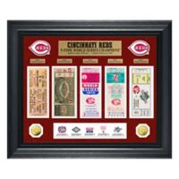 MLB Cincinnati Reds World Series Deluxe Gold Coin & Ticket Collection Photo Mint