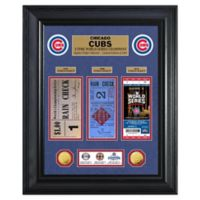 MLB Chicago Cubs World Series Deluxe Gold Coin & Ticket Collection Photo Mint