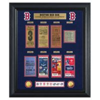 MLB Boston Red Sox World Series Deluxe Gold Coin & Ticket Collection Photo Mint