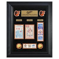 MLB Baltimore Orioles World Series Deluxe Gold Coin & Ticket Collection Photo Mint
