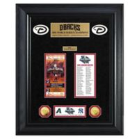 MLB Arizona Diamondbacks World Series Deluxe Gold Coin & Ticket Collection Photo Mint