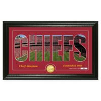 "NFL Kansas City Chiefs ""Silhouette"" Bronze Coin Panoramic Photo Mint"