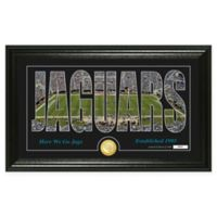"NFL Jacksonville Jaguars ""Silhouette"" Bronze Coin Panoramic Photo Mint"