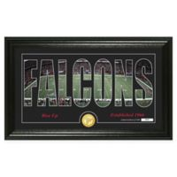 "NFL Atlanta Falcons ""Silhouette"" Bronze Coin Panoramic Photo Mint"
