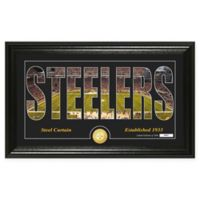 "NFL Pittsburgh Steelers ""Silhouette"" Bronze Coin Panoramic Photo Mint"