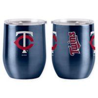 MLB Minnesota Twins 16 oz. Stainless Steel Curved Ultra Tumbler Wine Glass