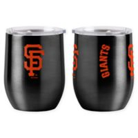 MLB San Francisco Giants 16 oz. Stainless Steel Curved Ultra Tumbler Wine Glass