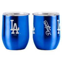 MLB Los Angeles Dodgers 16 oz. Stainless Steel Curved Ultra Tumbler Wine Glass