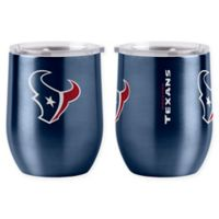 NFL Houston Texans 16 oz. Stainless Steel Curved Ultra Tumbler Wine Glass