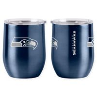 NFL Seattle Seahawks 16 oz. Stainless Steel Curved Ultra Tumbler Wine Glass