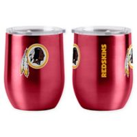NFL Washington Redskins 16 oz. Stainless Steel Curved Ultra Tumbler Wine Glass