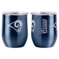 NFL Los Angeles Rams 16 oz. Stainless Steel Curved Ultra Tumbler Wine Glass