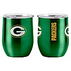NFL Green Bay Packers 16 oz. Stainless Steel Curved Ultra Tumbler Wine Glass