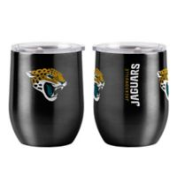 NFL Jacksonville Jaguars 16 oz. Stainless Steel Curved Ultra Tumbler Wine Glass