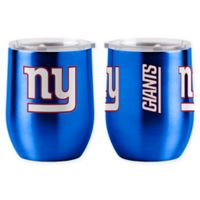 NFL New York Giants 16 oz. Stainless Steel Curved Ultra Tumbler Wine Glass