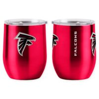 NFL Atlanta Falcons 16 oz. Stainless Steel Curved Ultra Tumbler Wine Glass