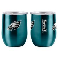 NFL Philadelphia Eagles 16 oz. Stainless Steel Curved Ultra Tumbler Wine Glass