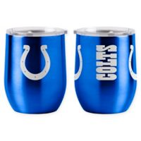 NFL Indianapolis Colts 16 oz. Stainless Steel Curved Ultra Tumbler Wine Glass