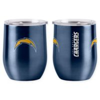 NFL Los Angeles Chargers 16 oz. Stainless Steel Curved Ultra Tumbler Wine Glass