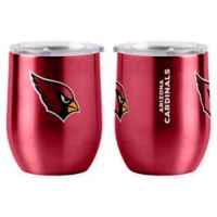 NFL Arizona Cardinals 16 oz. Stainless Steel Curved Ultra Tumbler Wine Glass