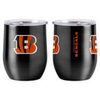 NFL Cincinnati Bengals 16 oz. Stainless Steel Curved Ultra Tumbler Wine Glass