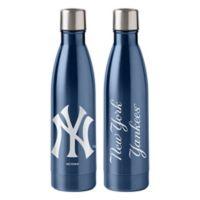 MLB New York Yankees 18 oz. Stainless Steel Water Bottle