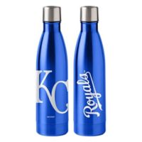 MLB Kansas City Royals 18 oz. Stainless Steel Water Bottle