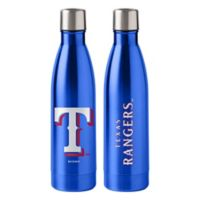 MLB Texas Rangers 18 oz. Stainless Steel Water Bottle